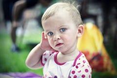 Stående av ett barn Royaltyfria Foton
