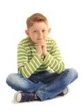 Stående av en pojke Royaltyfri Bild