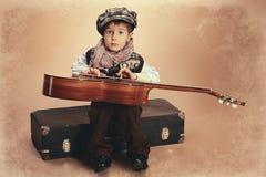 Gitarrist arkivbilder