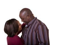 Stående av ett stående slut för gift par royaltyfri foto
