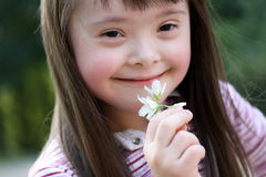 Stående av flickan Royaltyfria Foton