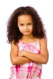 Stående av flickan för blandad race royaltyfria foton