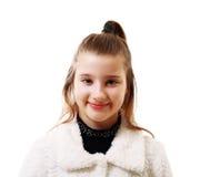 10 år flicka Royaltyfri Fotografi