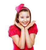 10 år flicka Royaltyfri Bild