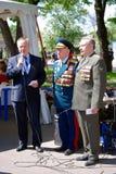 Stående av krigsveteran Royaltyfri Bild