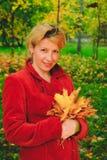 Stående av kvinnan Royaltyfri Bild