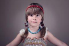 Stående av lilla flickan Royaltyfri Fotografi