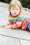 Stående av lite flickan Royaltyfri Foto