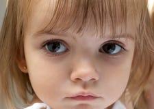 Stående av liten flicka Arkivbild