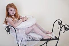 Stående av liten flicka Royaltyfri Fotografi