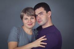 Stående av en man och en kvinna Royaltyfri Foto