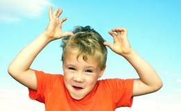 Stående av pojken Royaltyfria Foton