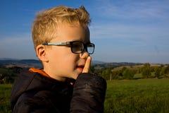 Stående av pojken Royaltyfri Bild