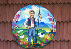 Stående av presidenten Yushchenko Royaltyfri Fotografi
