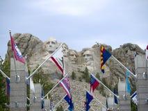 Stående av presidenter i vagga Arkivbild