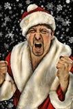 Stående av Santa Claus Arkivbild