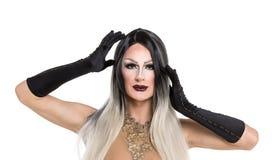 Stående av transvestit Royaltyfria Foton