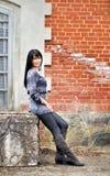 Stående av ung flicka Royaltyfria Foton