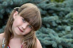 Stående av unga flickan arkivbild