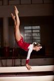 Stående av unga gymnaster Royaltyfri Bild