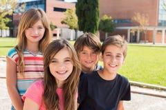 Stående av ungar Fotografering för Bildbyråer