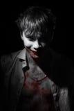 Stående av vampyrblod Royaltyfria Foton