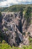 Stående Barron Falls i Barron Gorge National Park, Kuranda Australien arkivbilder