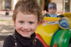 stående för dragningsbarnpark royaltyfri fotografi