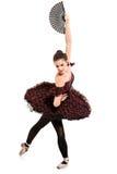 stående för längd för ballerinadansare full Arkivfoto