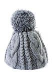 Stående för mode för vinterkläderkvinna Fotografering för Bildbyråer