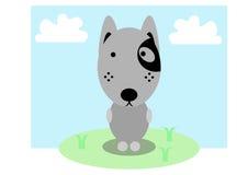 Stående hund Arkivbild