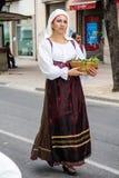 Stående i Sardinian dräkt Royaltyfria Bilder