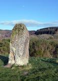 Stående sten, Perthshire, Skottland Royaltyfria Foton