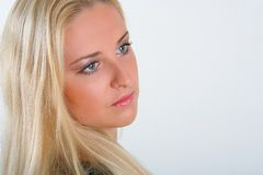 ståendekvinna Royaltyfria Foton
