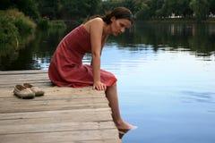 ståendekvinnor Royaltyfri Fotografi