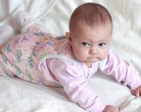 Ståenden av härligt litet behandla som ett barn flickan Royaltyfri Foto