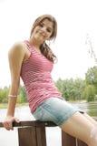 ståendetonåring Royaltyfri Fotografi