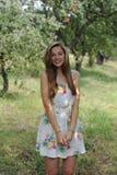 StåendeUkrain flicka Royaltyfri Fotografi