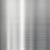 Stål borstad textur för metallyttersida Arkivbilder