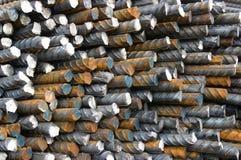 stål för 2 stänger arkivbilder
