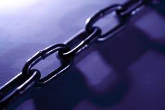 stål för chain sammanlänkningar Royaltyfria Foton