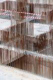 stål för förstärkning bars2 Arkivfoto