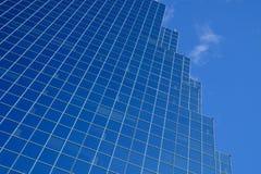Stål- och exponeringsglasreflexioner Arkivfoton