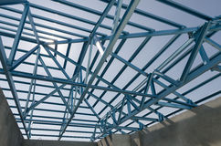 Stål Roof-13 Arkivfoton