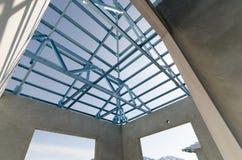 Stål Roof-17 Fotografering för Bildbyråer