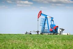 Stålar för olje- pump Royaltyfri Bild