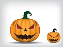 Stålar-nolla-lykta sniden halloween pumpa vektor illustrationer