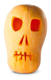 Stålar O_Lantern för skallepumpaallhelgonaafton Royaltyfri Foto
