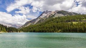 Stålar två i den Banff nationalparken, Alberta, Kanada Arkivbild