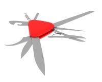 stålarkniv Fotografering för Bildbyråer